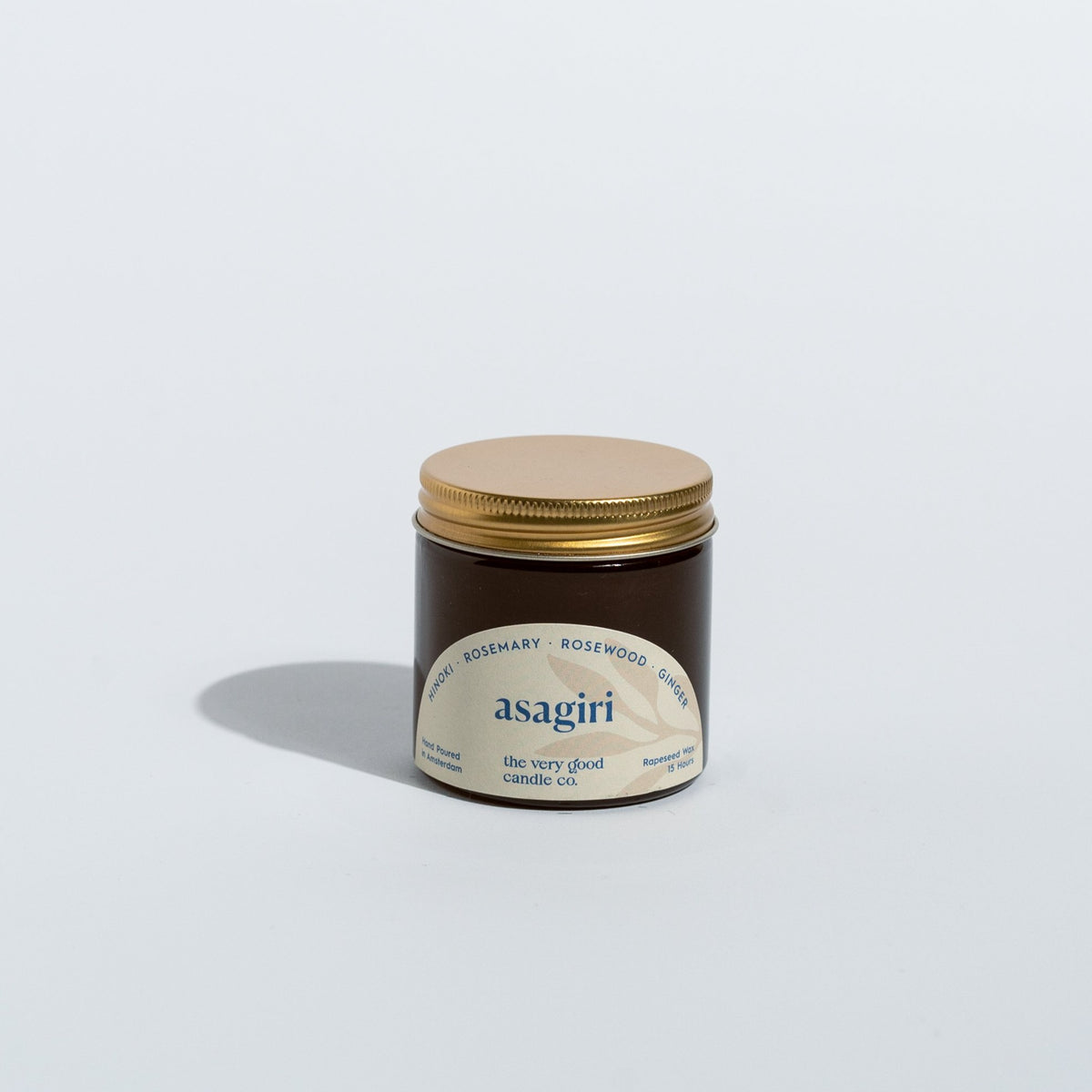 ASAGIRI Candle Travelsize (60 ml 12-15 Hours)