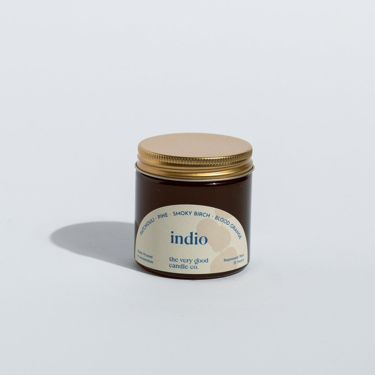 INDIO Candle Travelsize (60  ml 12-15 Hours)