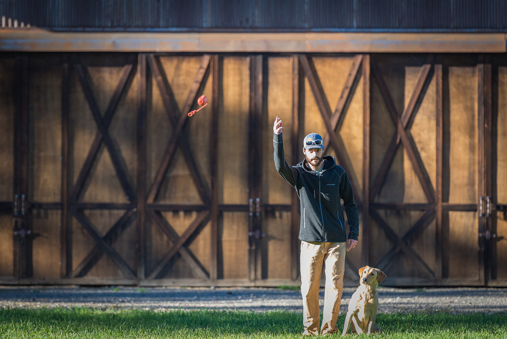 With the waterfowl season behind us, now is a great time for some dog training in the backyard.