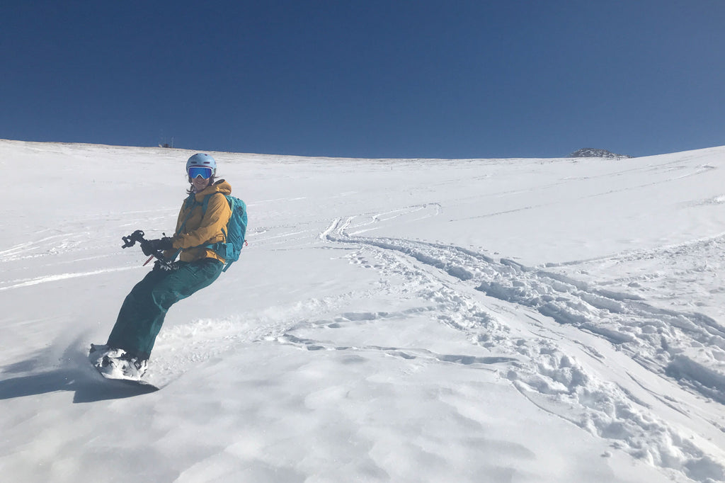 Splitboarding on Mount Baldy Breckenridge