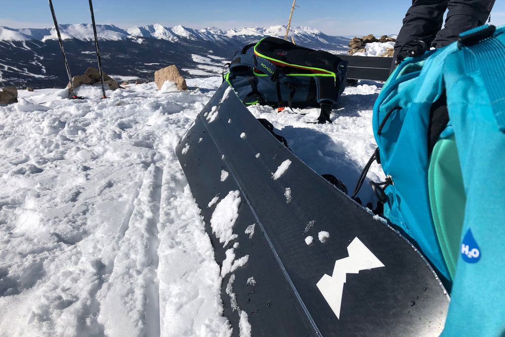 Splitboard packing tips