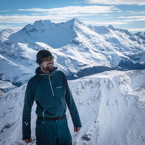 """I've been using the same High-E Hoodie for 4 years throughout long Alaska winter seasons and two winter seasons in New Zealand and it's still good to go!"" Nick D'Alessio, AMGA Ski Guide, Alaska"