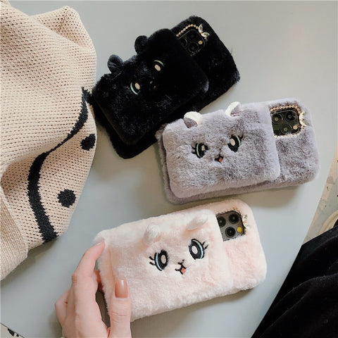 Cat Soft Shell Phone Case for IPhone
