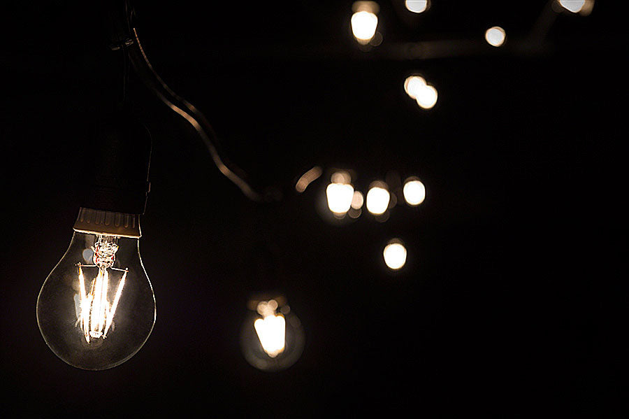 filament LED bulbs are bringing back the charm