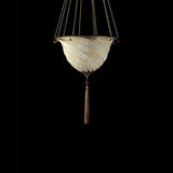 Samarkanda Ceiling, deco finish, venetia studium, fortuny lighting