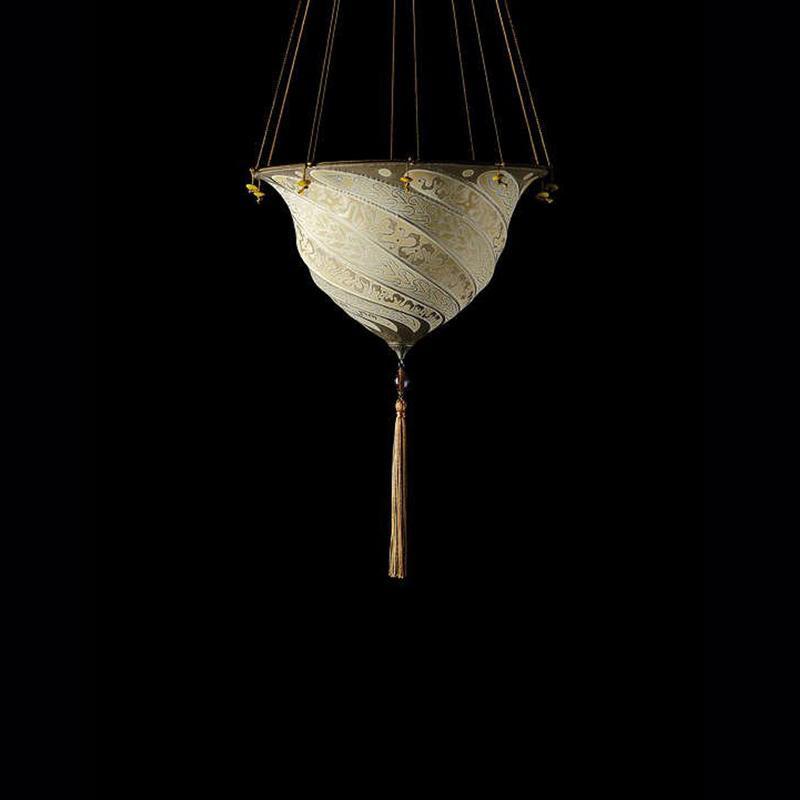 Samarkanda Ceiling, serpentine finish, venetia studium, fortuny lighting