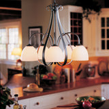 Sweeping Taper 5 Arm Downlight Chandelier
