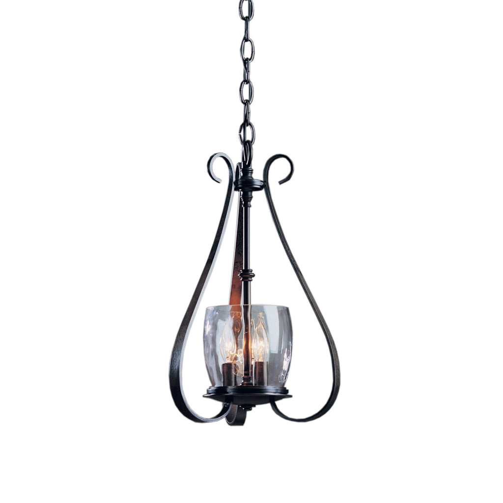 Sweeping Taper 3 Arm Chandelier