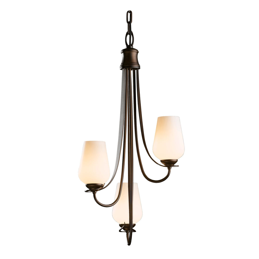 Flora Vertical 3 Arm Chandelier
