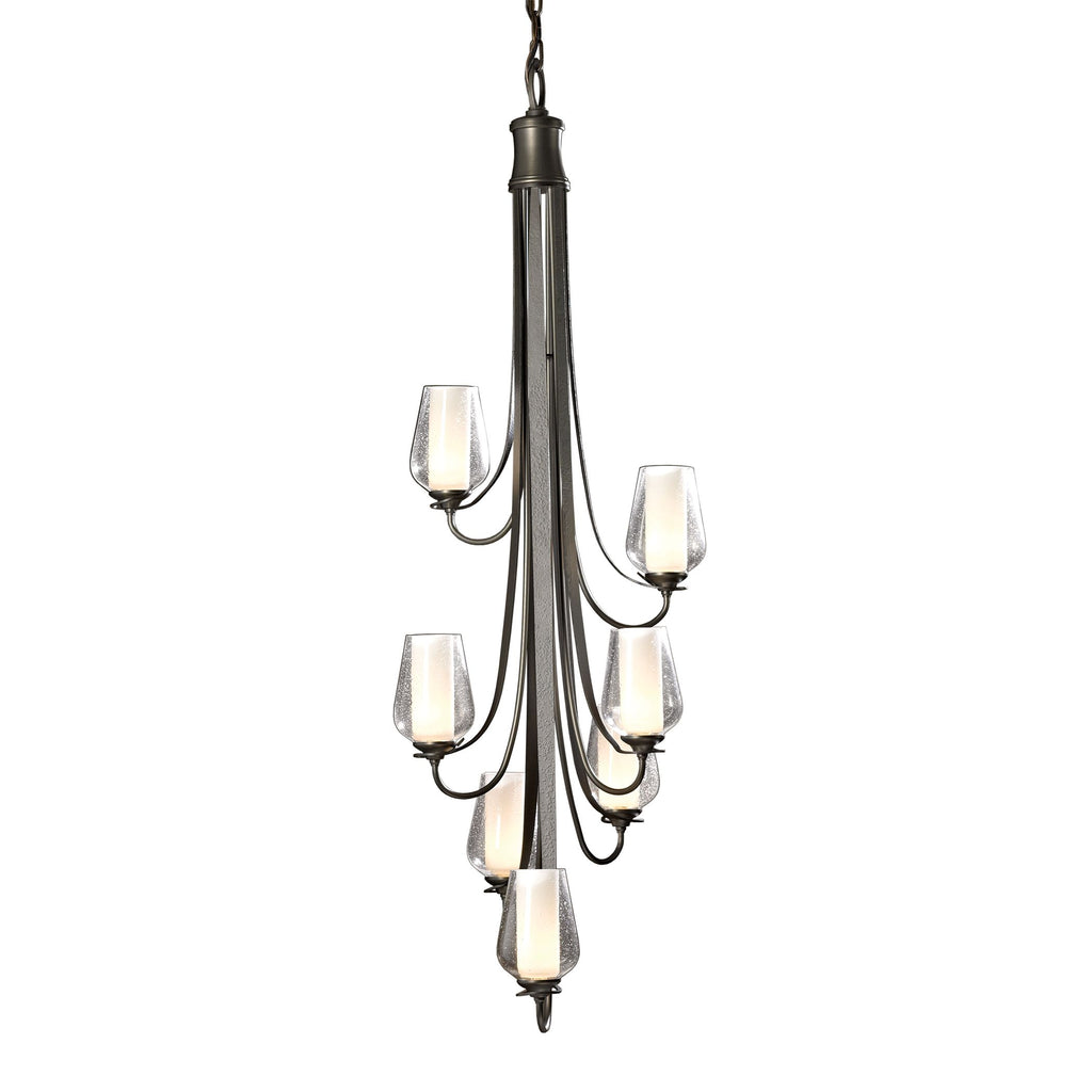Flora Vertical 7 Arm Chandelier