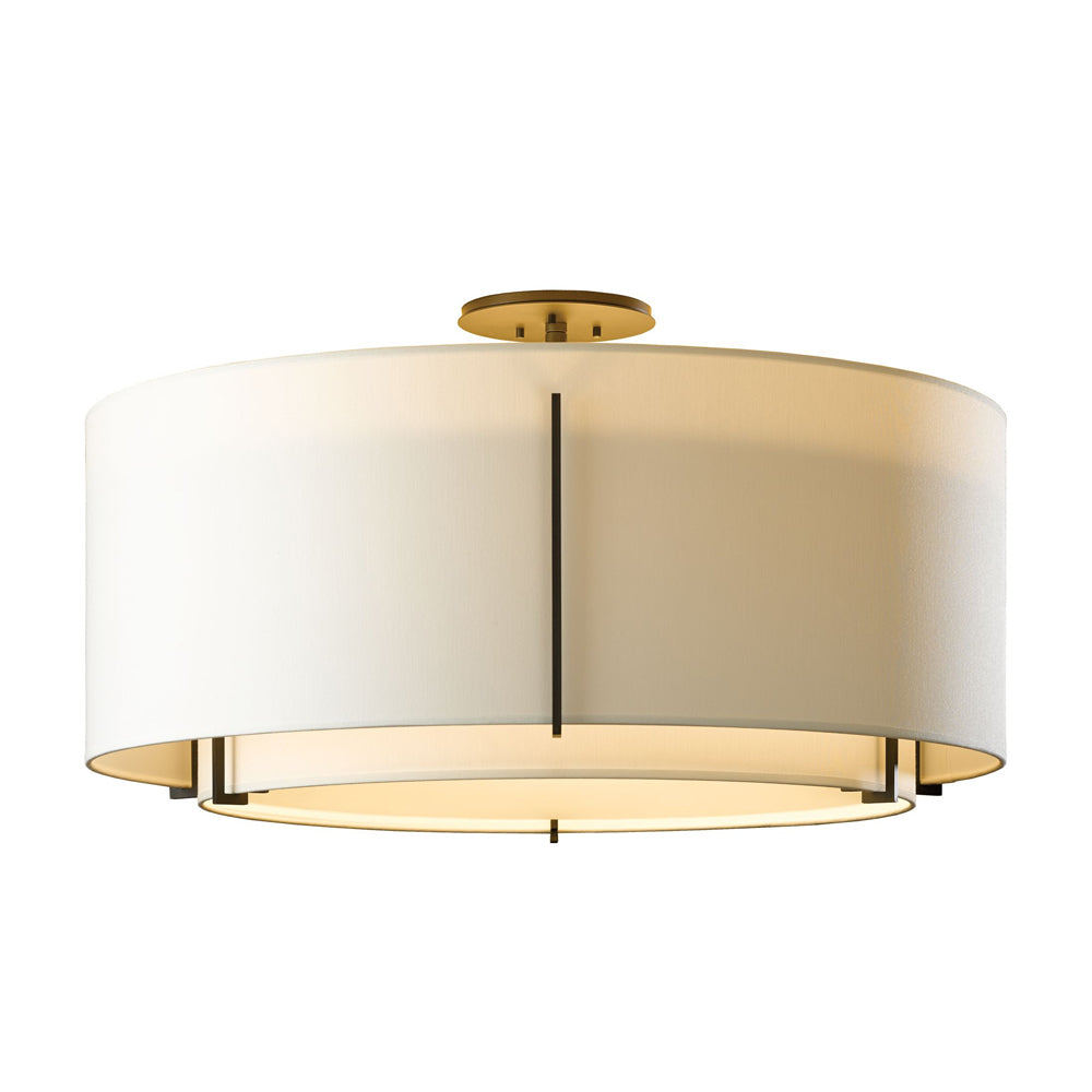 Exos Large Double Shade Semi-Flush
