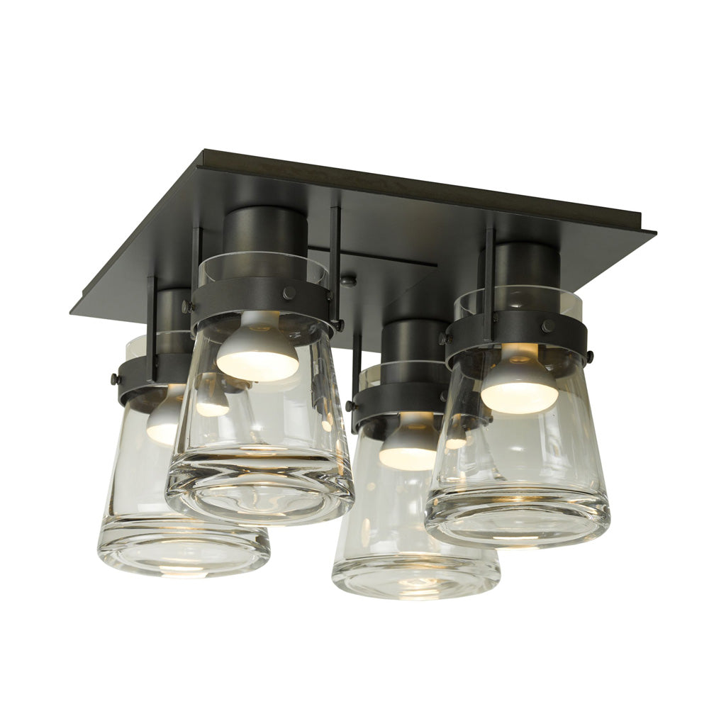 Erlenmeyer 4 Light Semi-Flush