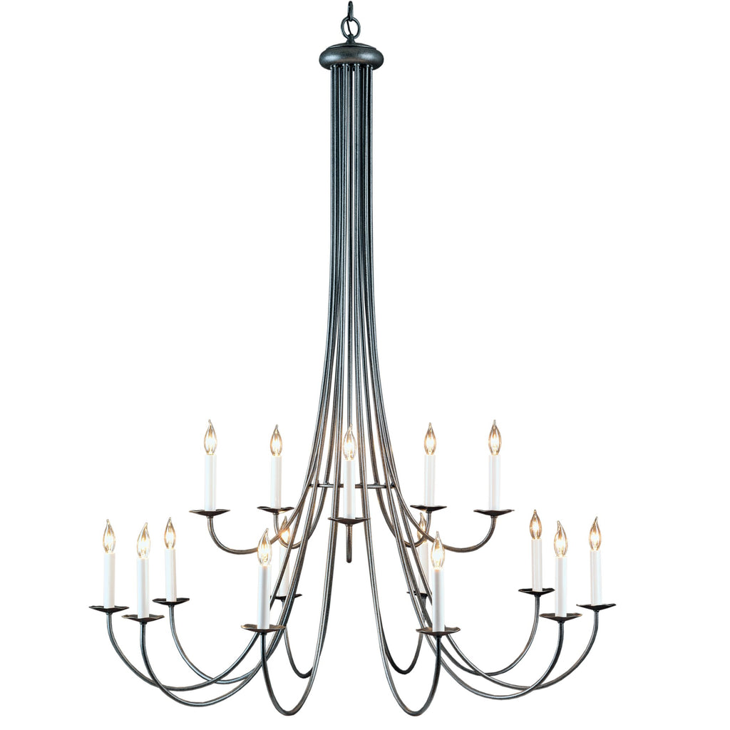 Simple Sweep 15 Arm Chandelier