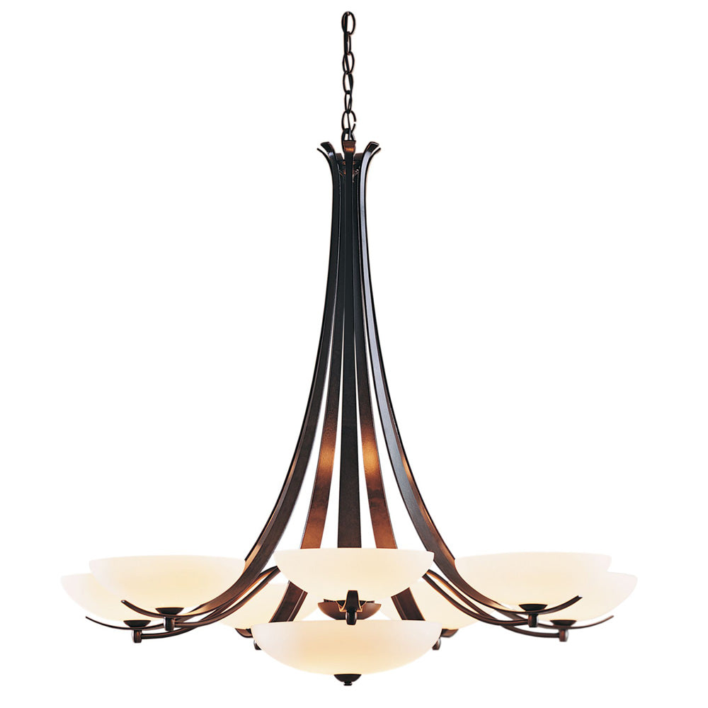 Aegis 7 Arm Chandelier with Bottom Bowl