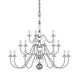 Ball Basket 21 Arm Chandelier