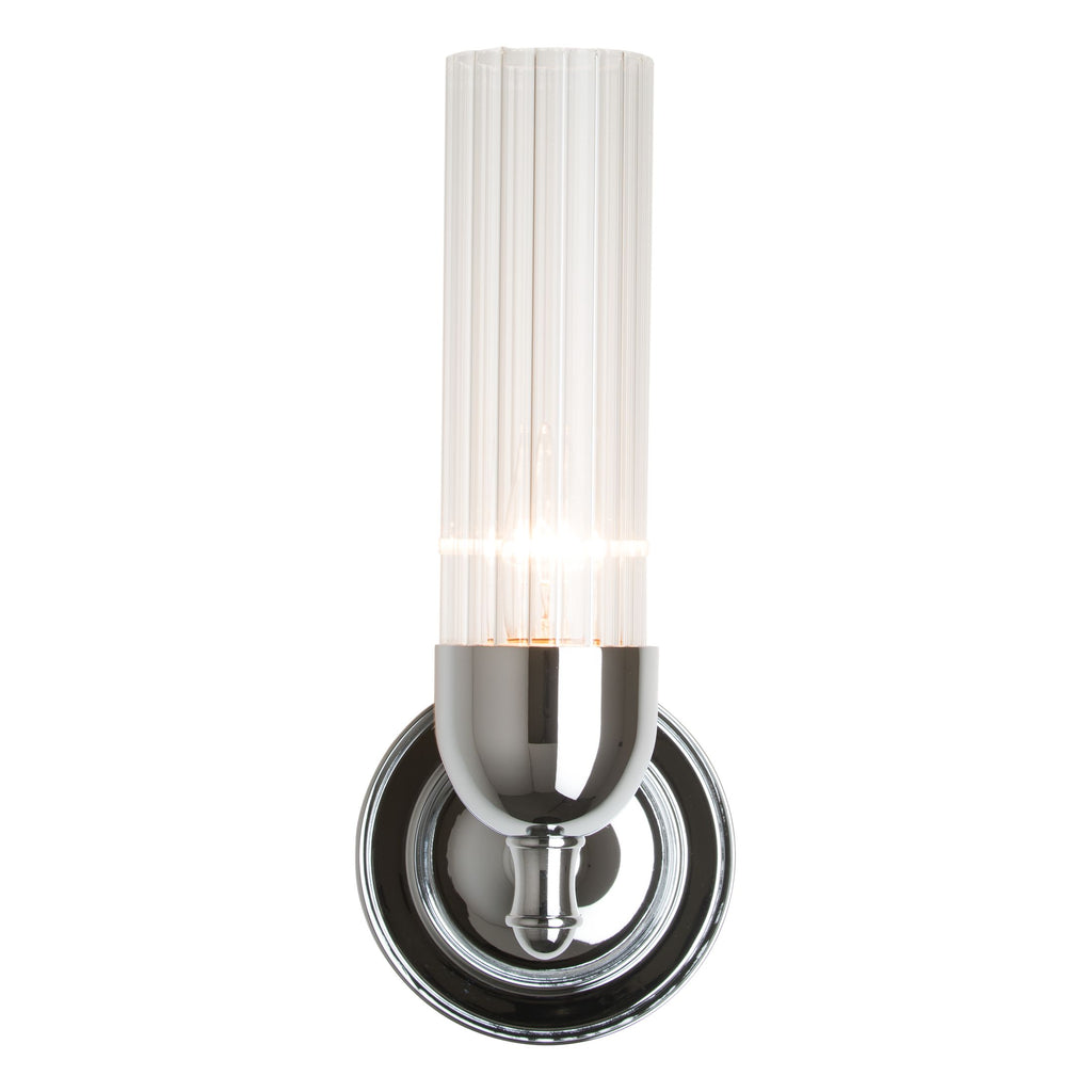 Fluted 1 light Sconce - Reflections
