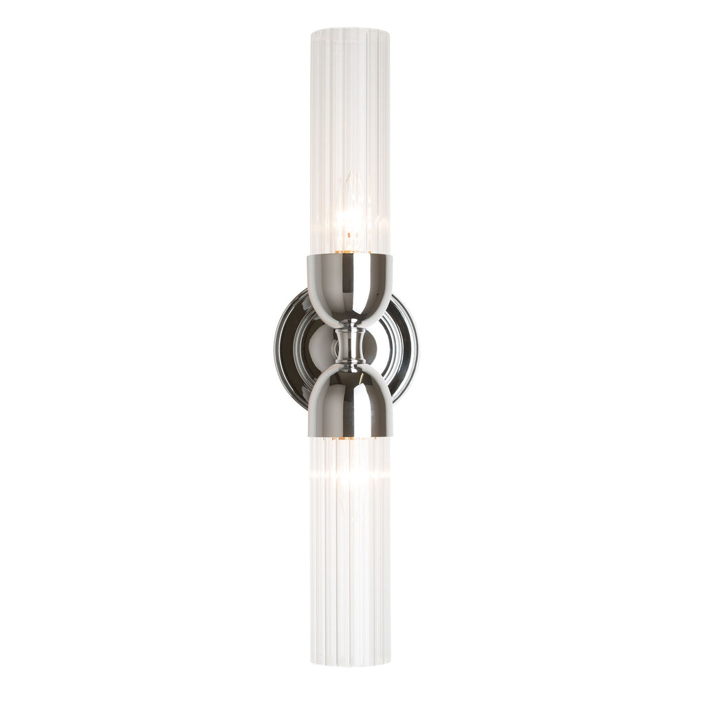 Fluted 2 Light Sconce - Reflections