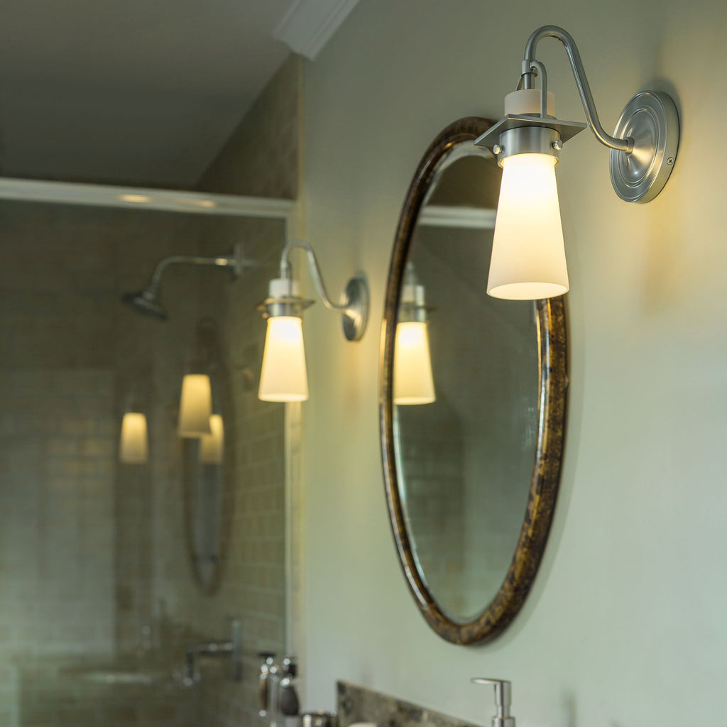 Castleton 1 Light Tapered Sconce - Reflections