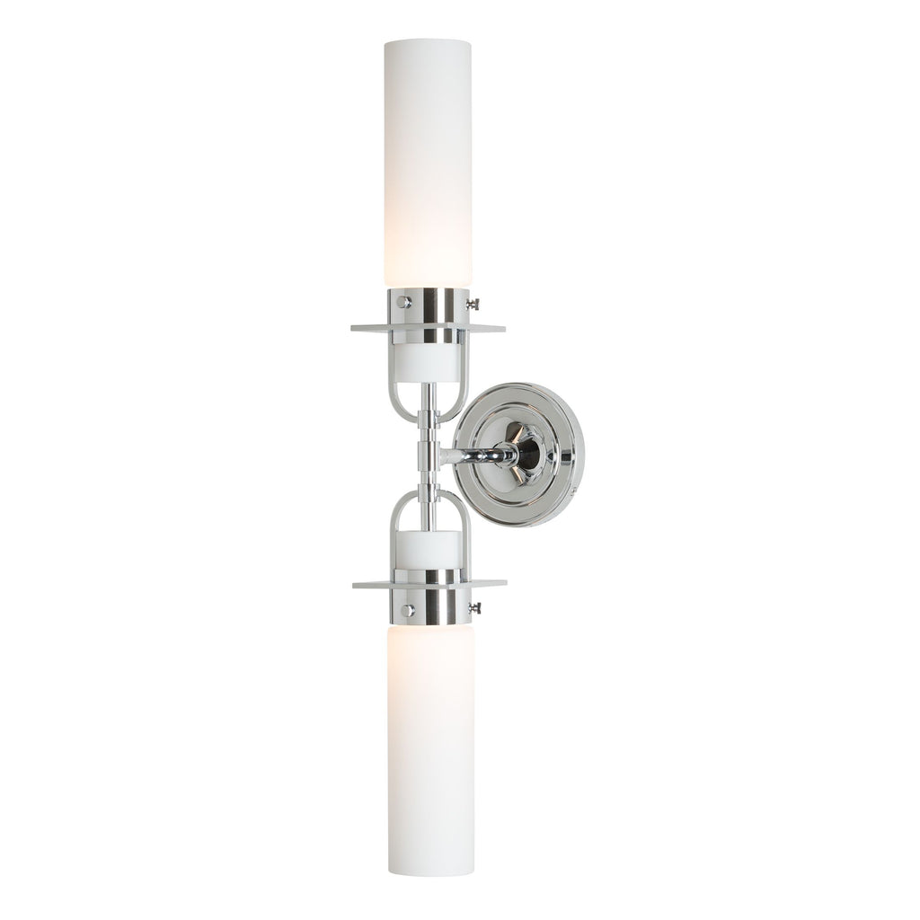 Castleton 2 light  Cylinder Sconce - Reflections