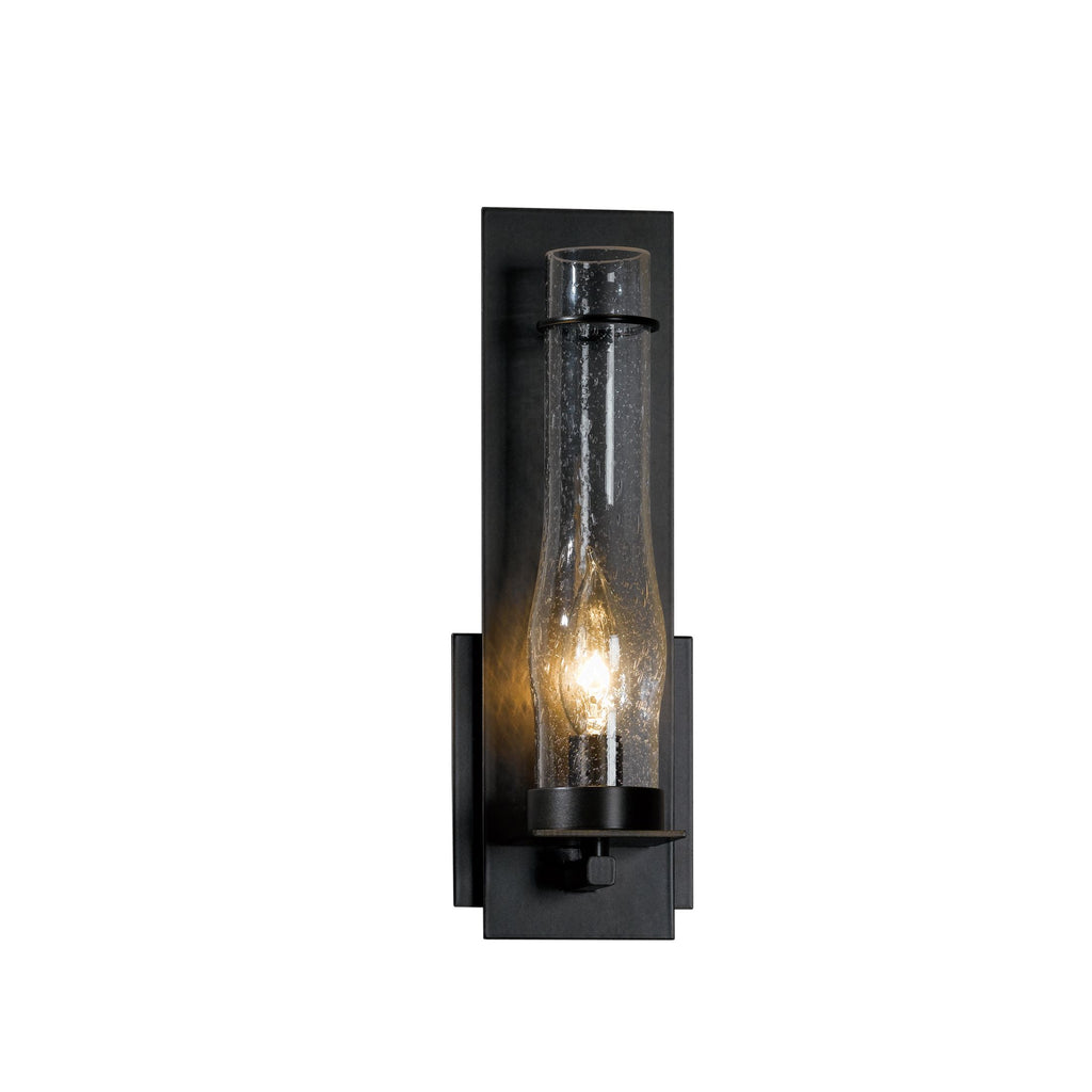New Town Sconce with Hurricane Glass