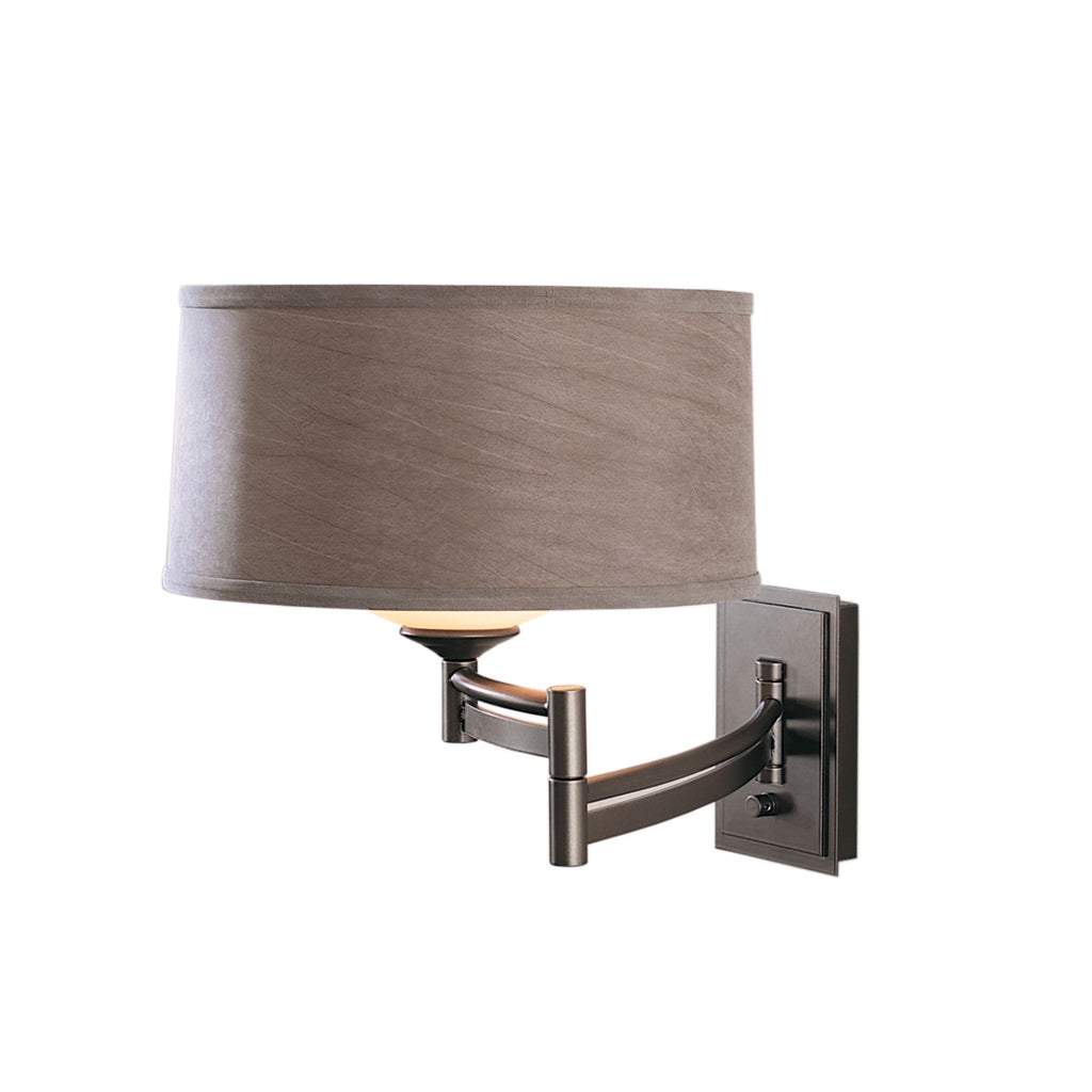 Bowed Swing Arm Sconce