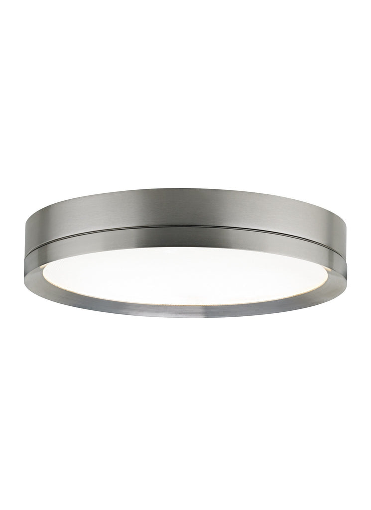 FINCH FLUSH MOUNT Round / Satin Nickel - 3