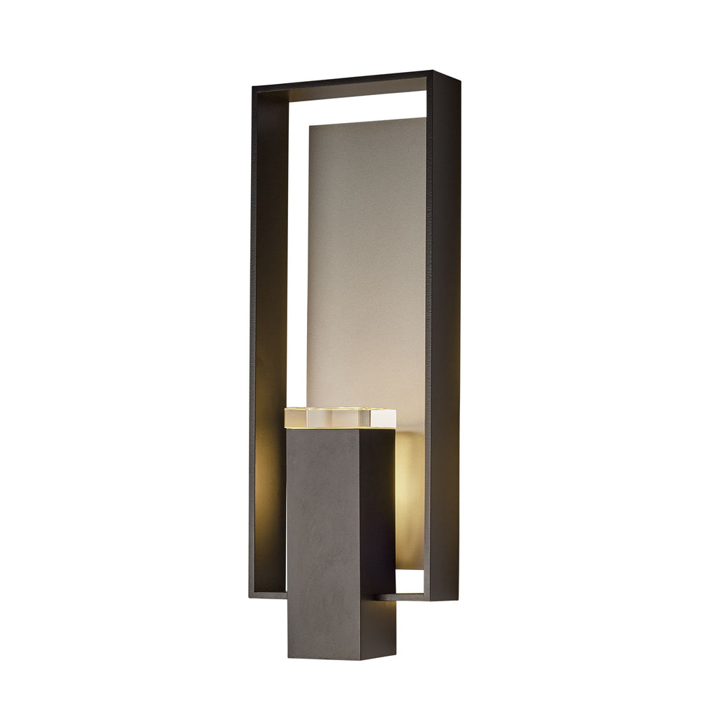 Shadow Box Large Outdoor Sconce