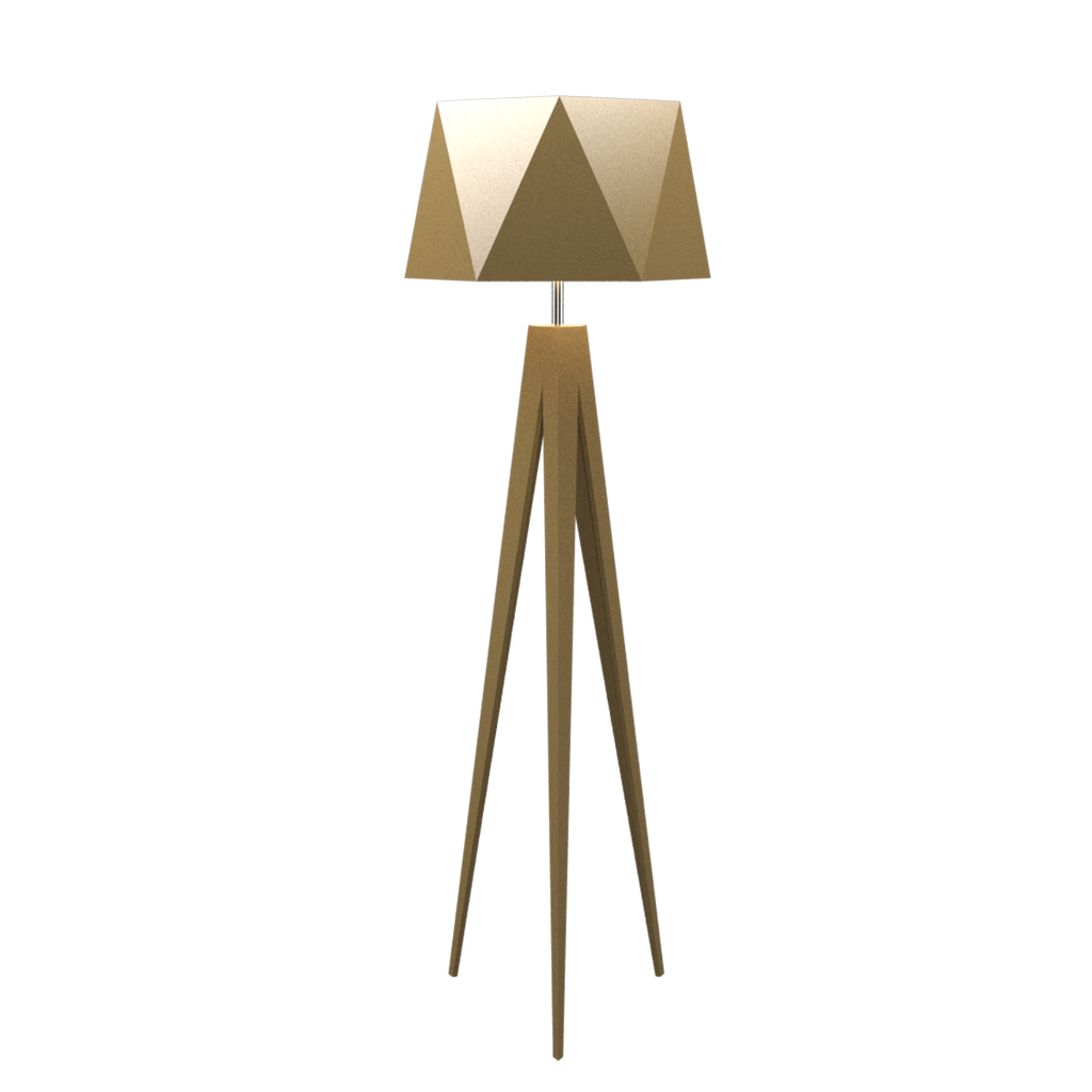 Faceted Floor Lamp