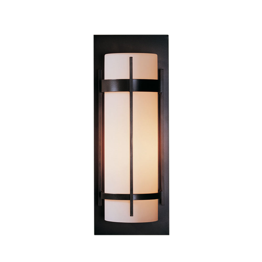 Banded Large Outdoor Sconce