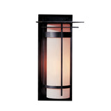 Banded with Top Plate Large Outdoor Sconce