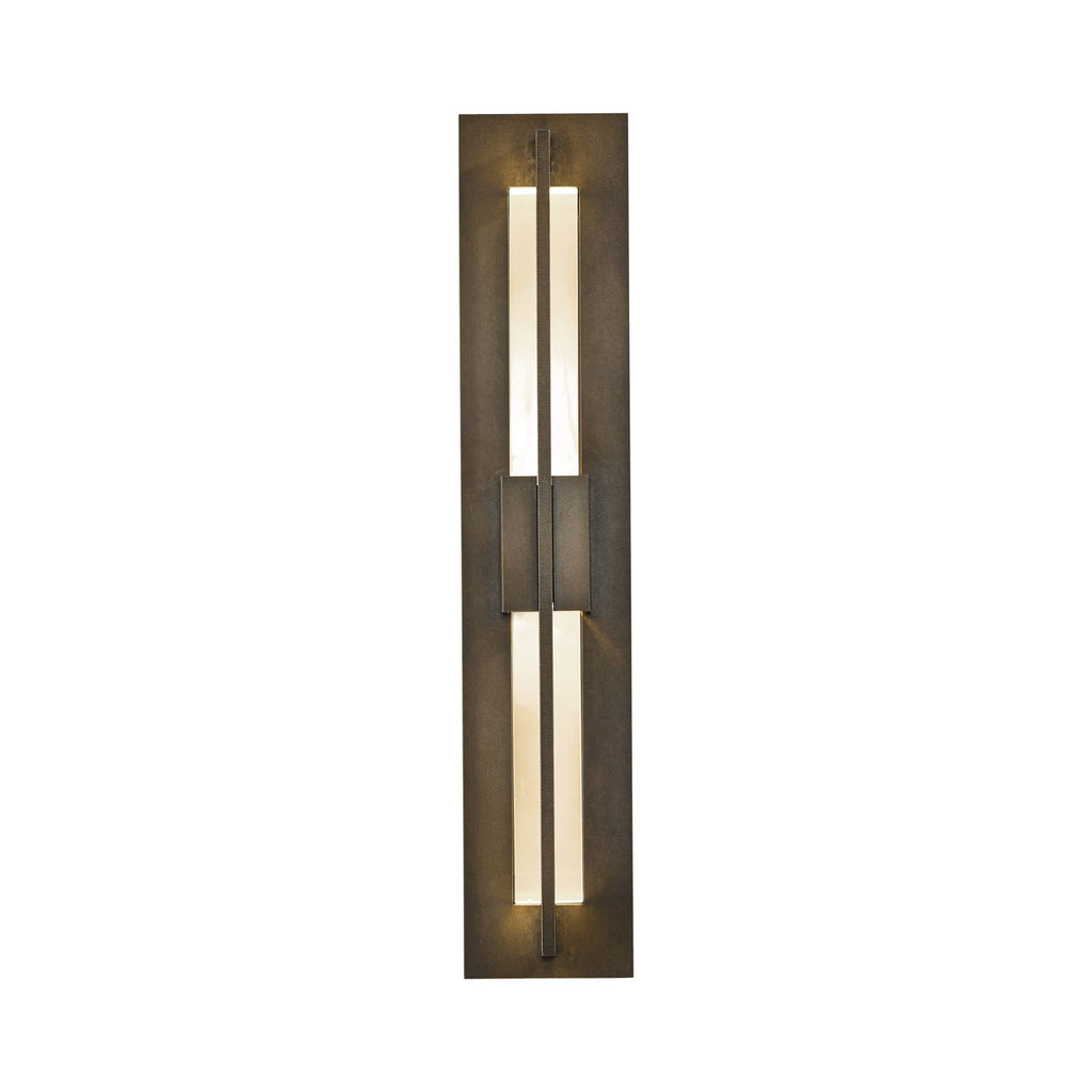 Double Axis Small LED Outdoor Sconce
