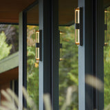 Double Axis Large LED Outdoor Sconce