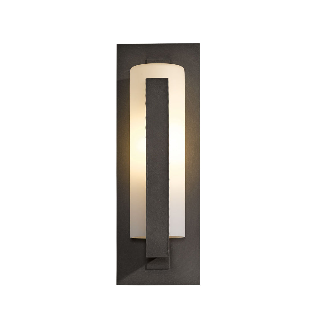 Forged Vertical Bars Outdoor Sconce