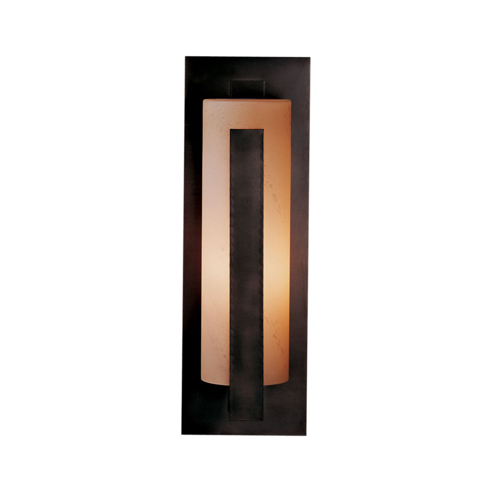 Forged Vertical Bars Large Outdoor Sconce