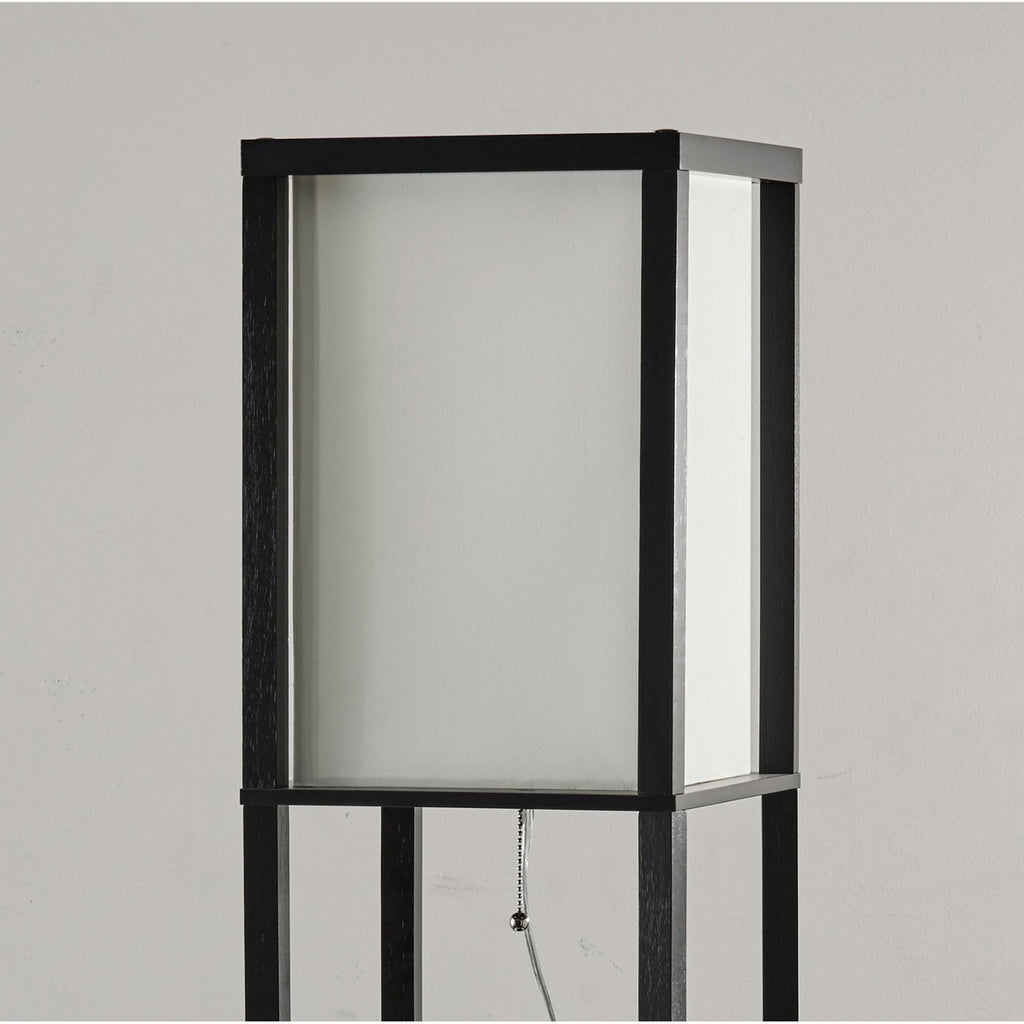 Adesso Wright Shelf Floor Lamp