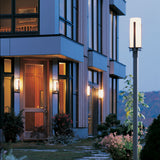 Forged Vertical Bars Outdoor Post Light
