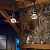 Mason Small Outdoor Ceiling Fixture