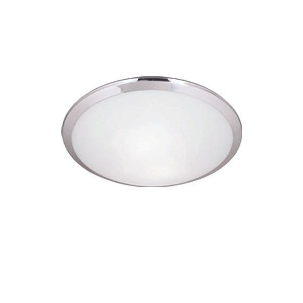 Single Lamp Round Flush Mount