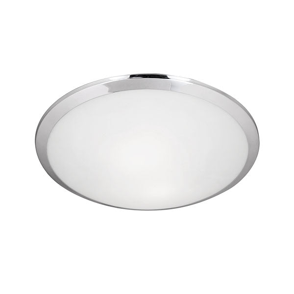 Two Lamp Round Flush Mount