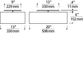 Mulberry Ceiling, specifications