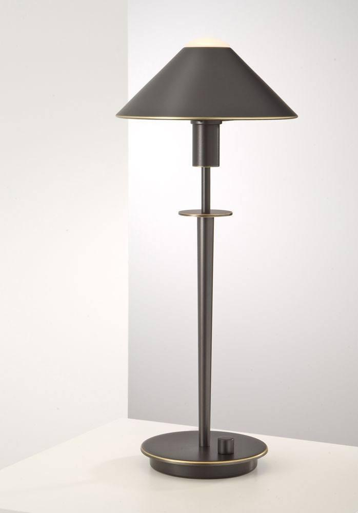 6504 HALOGEN TABLE LAMP HAND-BRUSHED OLD BRONZE - 3