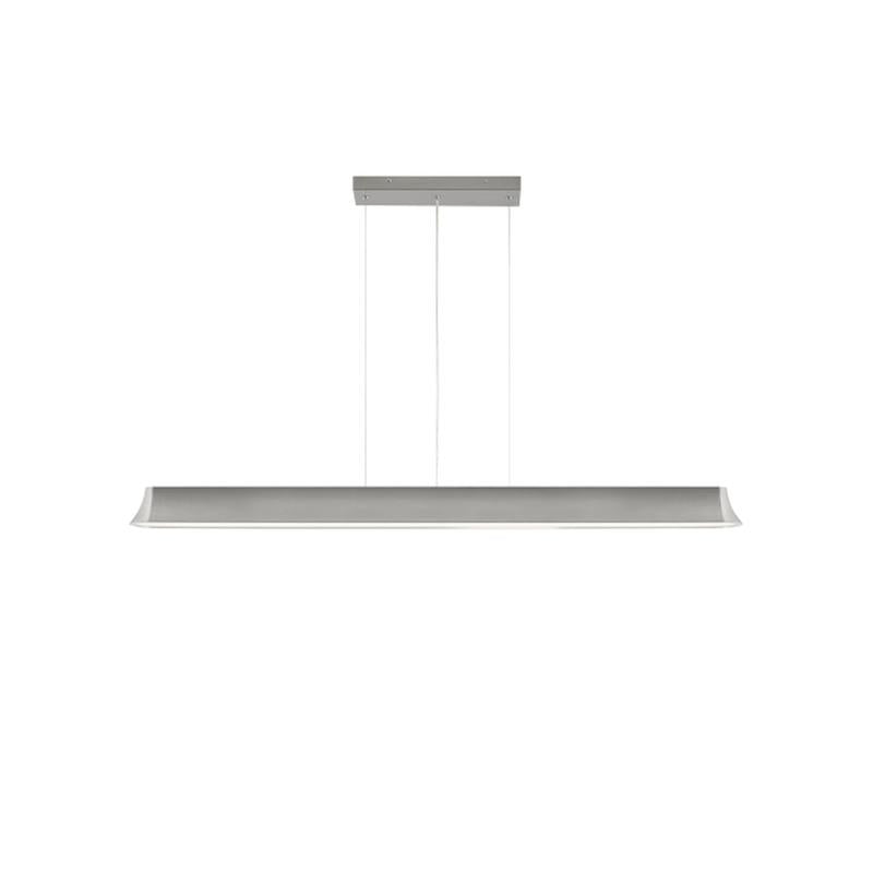 zhane linear pendant, satin nickel finish, tech lighting