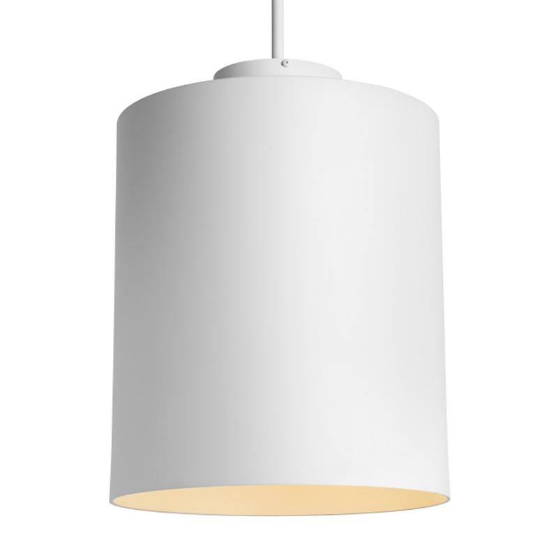 Hutch Pendant from Tech Lighting in Matte White finish