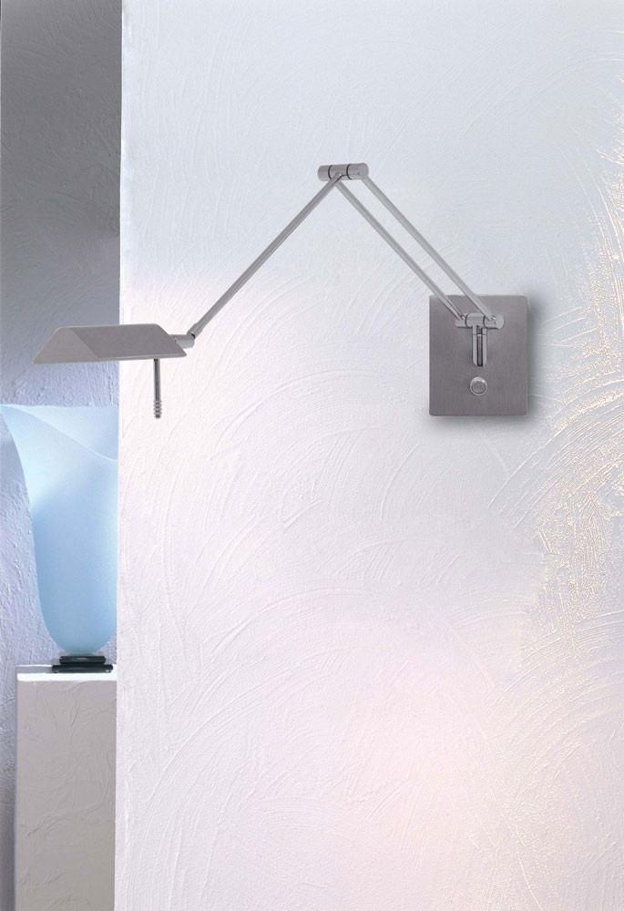 8191 SWING-ARM WALL SCONCE SATIN NICKEL - 3