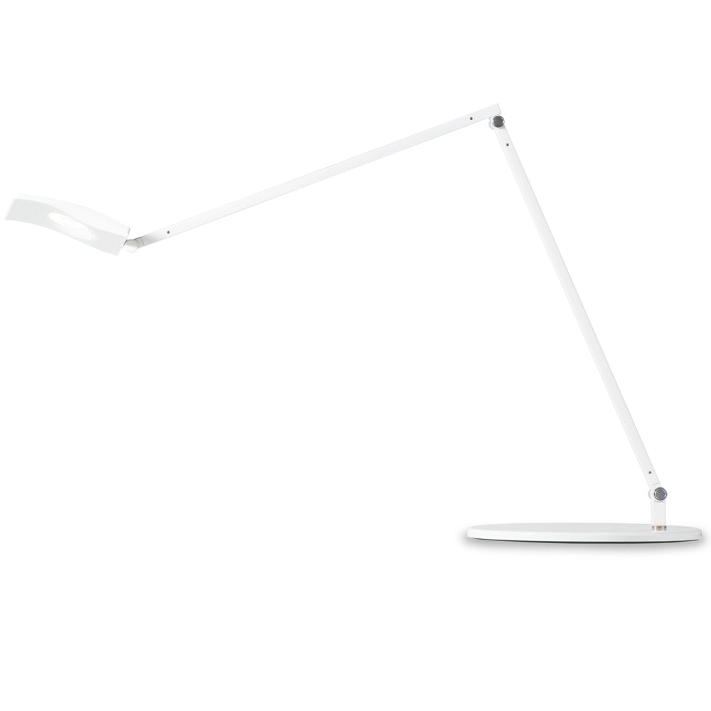 Mosso Pro Desk Lamp, LED, White, warm/cool, dimmable, koncept