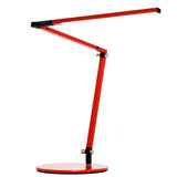 z-bar mini led desk lamp, red, warm or cool option, Koncept