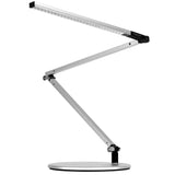 Z-bar mini led desk lamp, silver, warm or cool option, Koncept