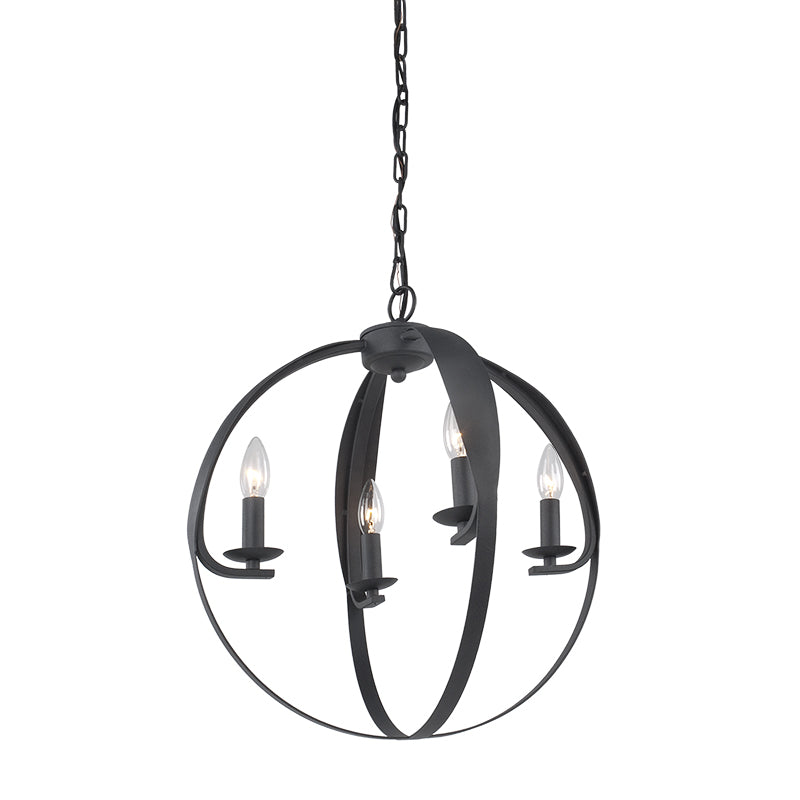 MANCHESTER CORE 4 Light Chandelier