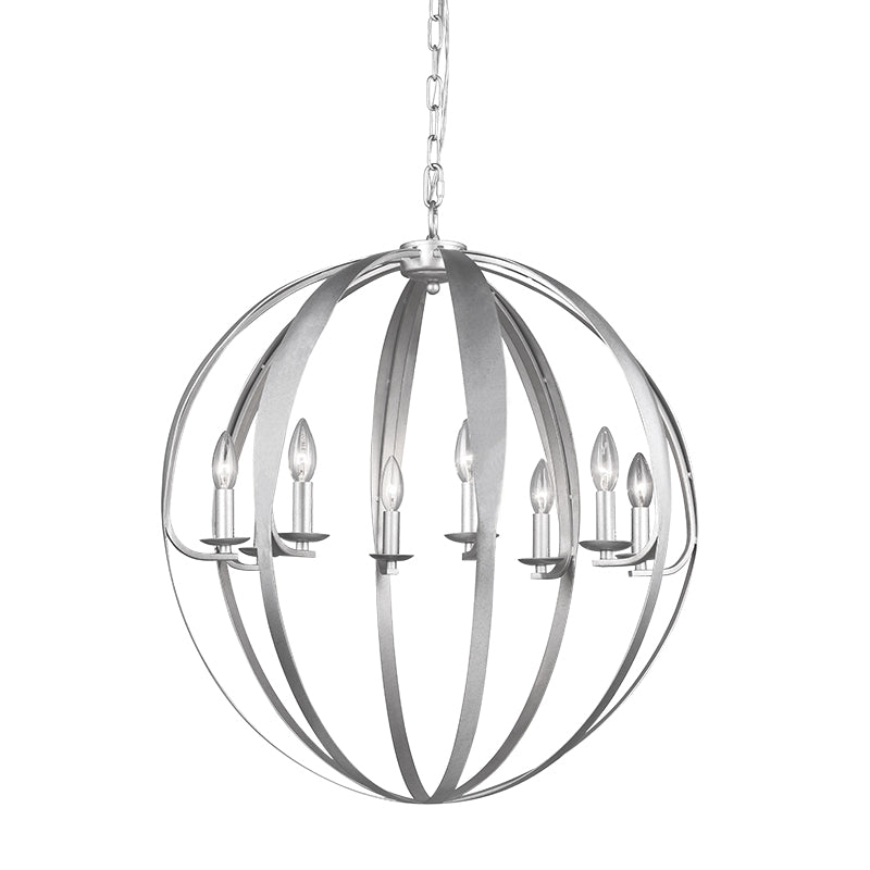 MANCHESTER CORE 8 Light Chandelier