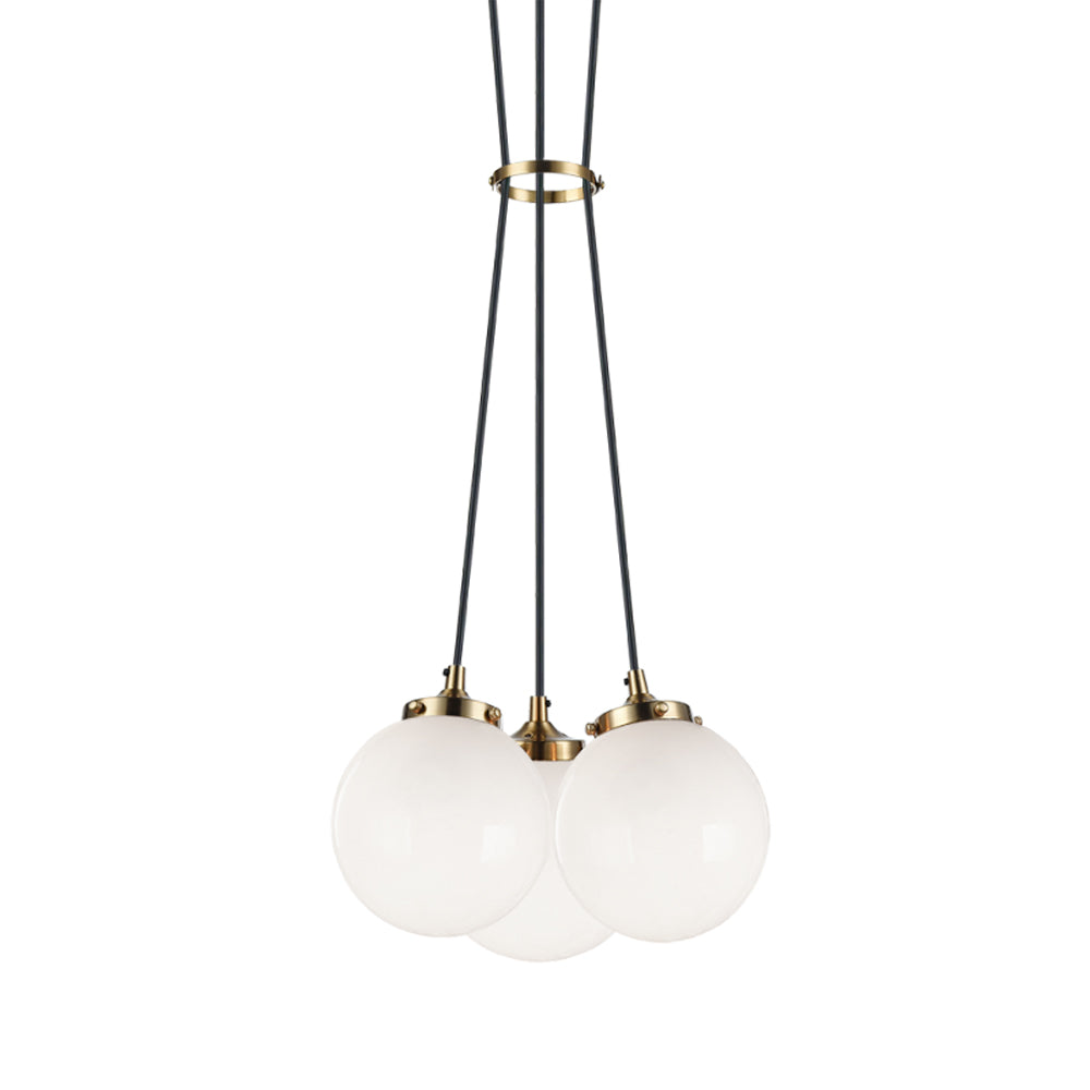 The Bougie 3 Light Chandelier